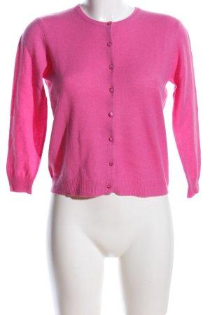 Autumn cashmere Cardigan pink Casual-Look