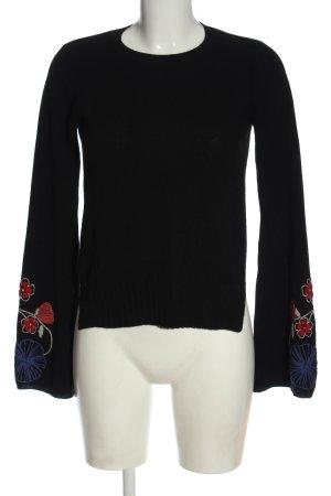 Autumn cashmere Kaszmirowy sweter czarny W stylu casual