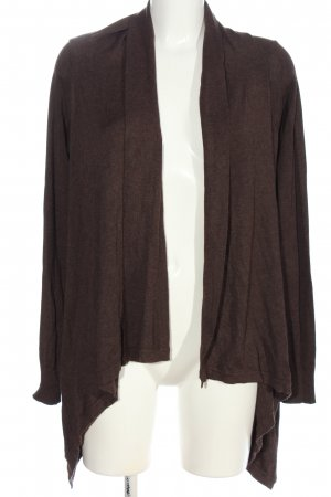 Autumn Magic Knitted Cardigan brown flecked casual look