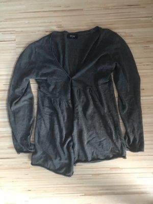 Auxo Jersey Blazer grey-black