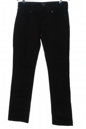 AVA Straight-Leg Jeans schwarz Casual-Look