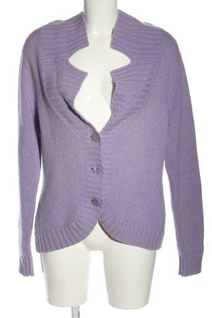 Ava Woman Kaszmirowy sweter fiolet W stylu casual