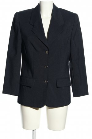 Avance Creation Blazer long noir moucheté style d'affaires