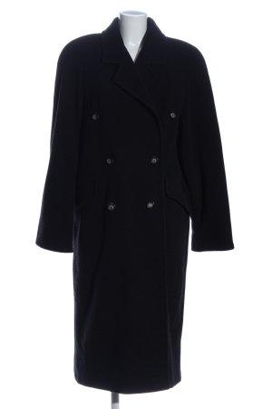 Avance Creation Manteau en laine noir style décontracté