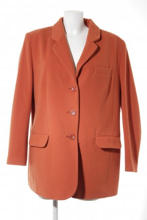 Avance Creation Wool Coat dark orange street-fashion look