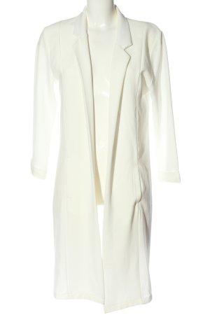 Avant Première Long Blazer white elegant