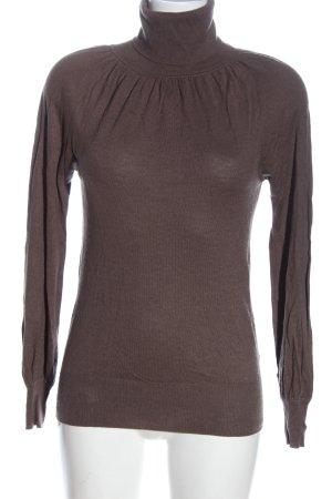 Avant Première Turtleneck Sweater brown casual look