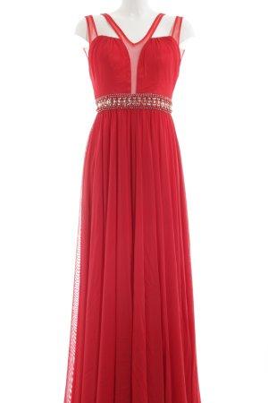 Avantgarde Abendkleid rot Elegant