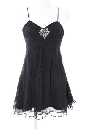 Avantgarde Abendkleid schwarz Elegant
