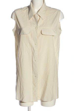Avanti Sleeveless Blouse cream casual look