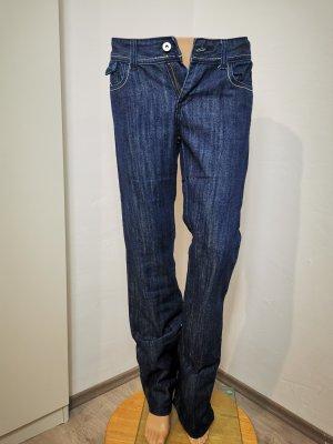 Avanti Low Rise jeans donkerblauw Katoen