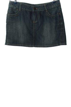 Avanti Jupe en jeans bleu style décontracté