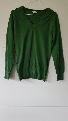 Avanti V-Neck Sweater forest green