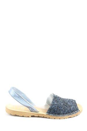 AVARCA MENORQUINA Comfort Sandals blue-black casual look