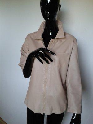 Ave, leichte, rosefarbene, weiche  Lederjacke, sehr guter Zustand Gr. S