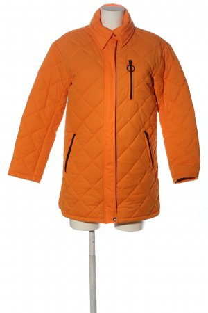 AVEC LES FILLES Quilted Jacket light orange quilting pattern casual look