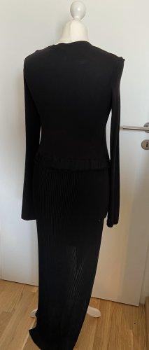 Avelon Sukienka z długim rękawem czarny