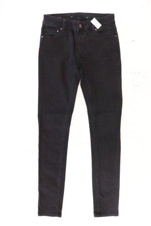 AVELON Skinny Jeans Größe 34 schwarz aus Baumwolle