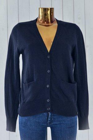 Avelon Cardigan tricotés noir coton