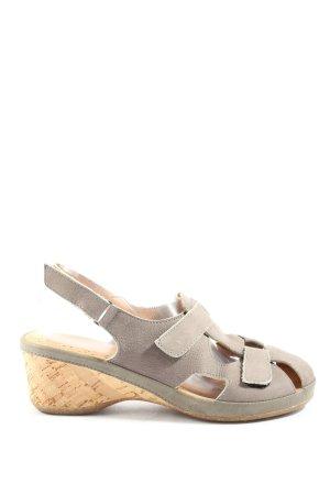 Avena Wygodne sandały turkusowy W stylu casual
