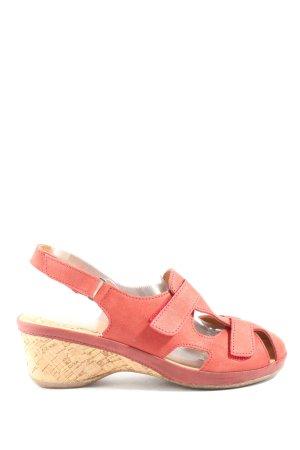 Avena Comfort Sandals pink casual look