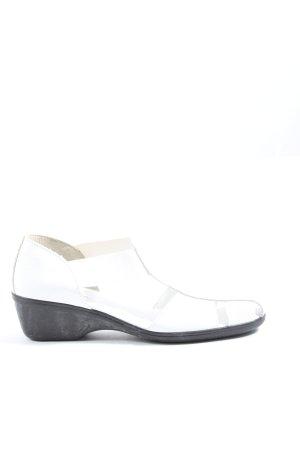 Avena Platform Sandals white casual look