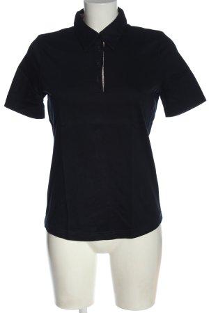 Avena Polo Shirt black casual look