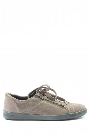 Avena Lace-Up Sneaker brown animal pattern casual look