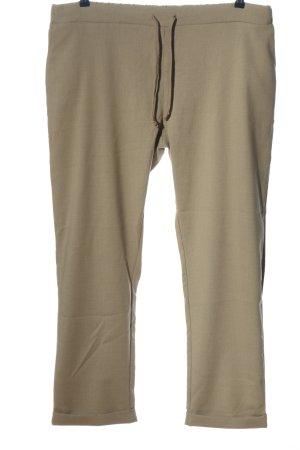 Avena Jersey Pants brown casual look