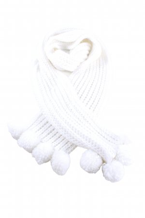 Avene Knitted Scarf white casual look