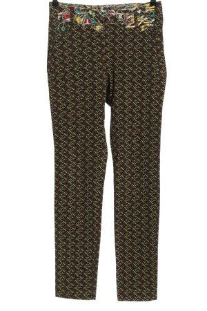 Aventures des Toiles Pantalon en jersey motif abstrait élégant