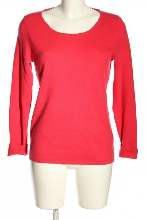 Avenue Foch Cashmerepullover rot Casual-Look