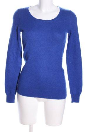 Avenue Foch Cashmerepullover blau Casual-Look