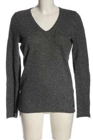 Avenue Foch Kaszmirowy sweter jasnoszary W stylu casual