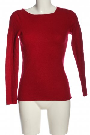 Avenue Foch Kaszmirowy sweter czerwony W stylu casual
