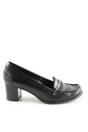 Avenue Foch Chaussure décontractée noir style d'affaires