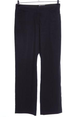 Avitano Pantalon zwart zakelijke stijl