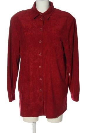 Avitano Shirt met lange mouwen rood casual uitstraling