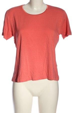 Avitano Gebreid shirt rood casual uitstraling
