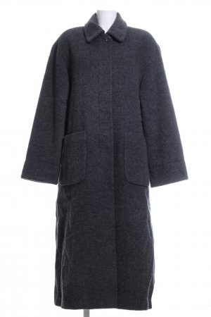 Avitano Wool Coat black flecked casual look