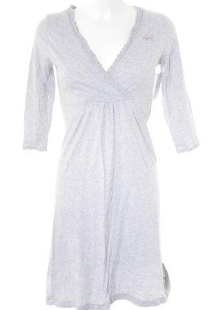Avoca Robe en jersey gris clair-gris moucheté style décontracté