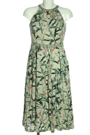 Avoca Halter Dress allover print casual look
