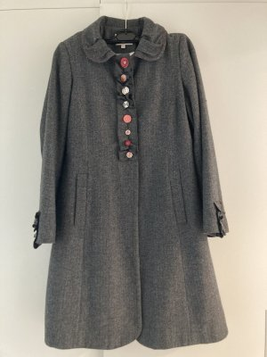 Avoca Wool Coat grey