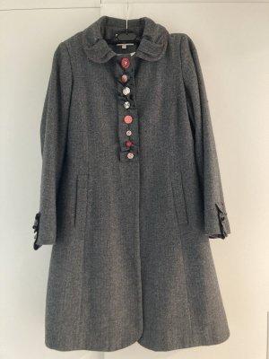 Avoca Manteau en laine gris
