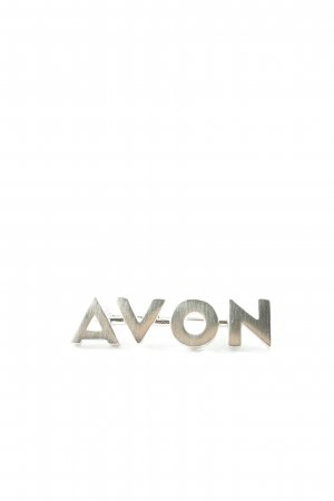 Avon Brooch silver-colored casual look