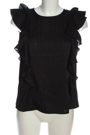 AWARE Bluzka bez rękawów czarny W stylu casual