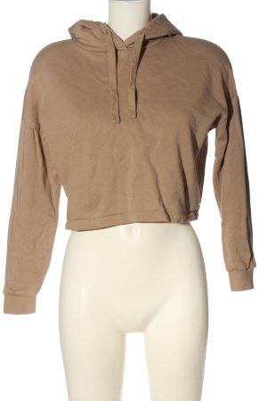 AWARE Hooded Sweatshirt brown casual look