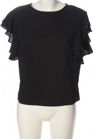 AWARE Short Sleeved Blouse black casual look
