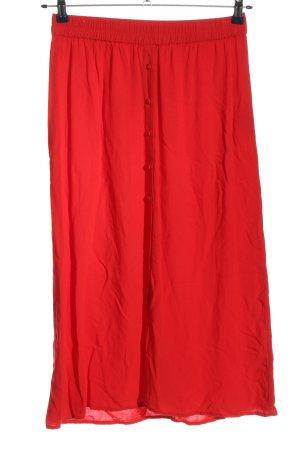 AWARE Robe mi-longue rouge style décontracté