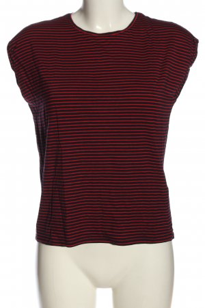 AWARE Stripe Shirt black-red striped pattern casual look